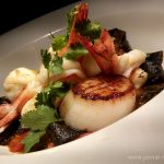 Fresh Squid Ink Pasta, menu istimewa Alila Jakarta dari Chef Alex Ensor