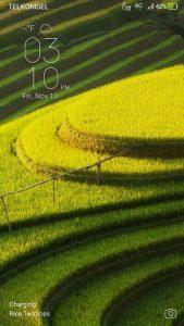 Tampilan Lockscreen ZenUI 4.0