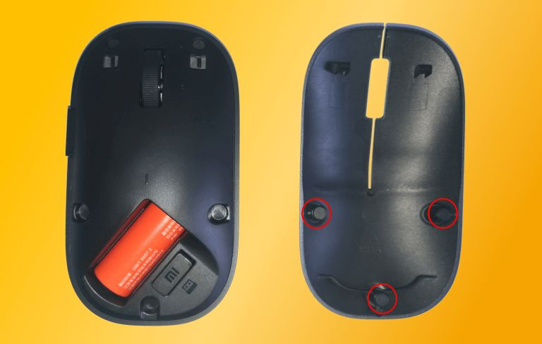 Baterai dan dongle mouse Xiaomi WSB01TM-compressed
